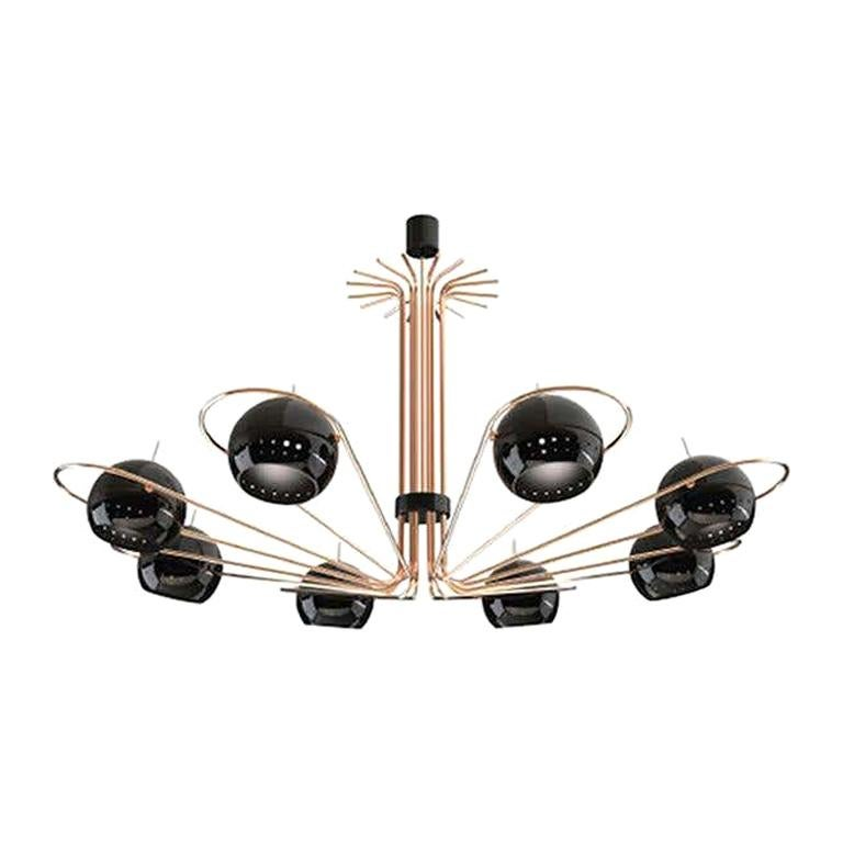 Pendant Light in Brass