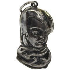 Sterling Silver Pendant,  Lempicka, Handmade, Italy