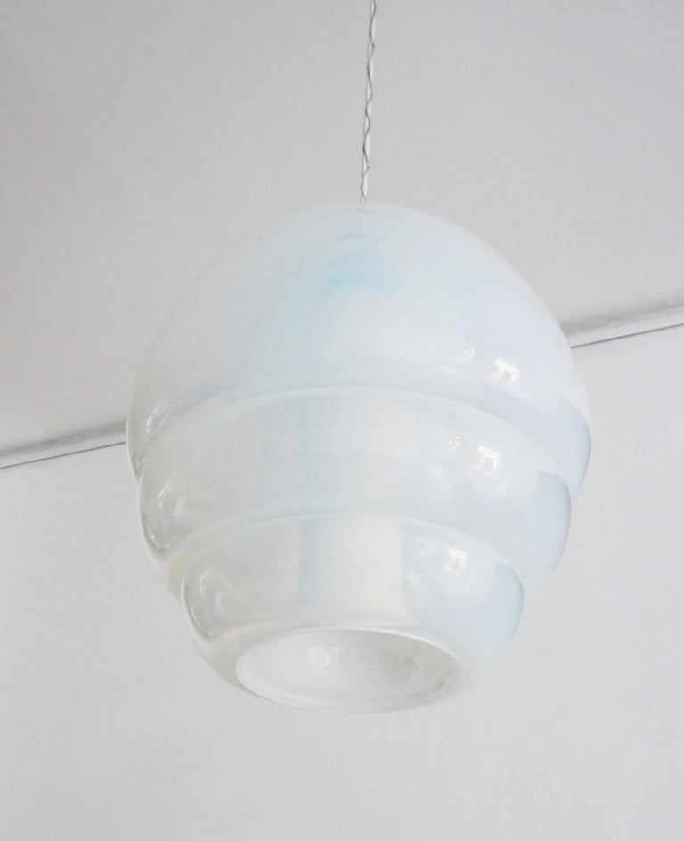 Italian Pendent Light by Carlo Nason for Mazzega Model LS134 For Sale