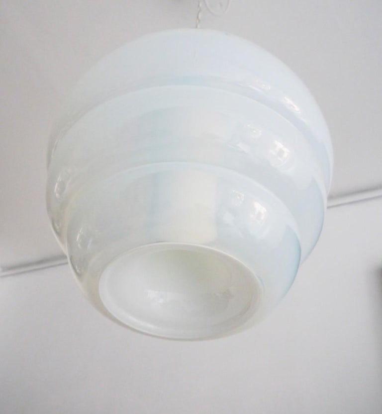 Mid-20th Century Pendent Light by Carlo Nason for Mazzega Model LS134 For Sale