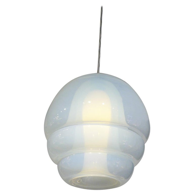 Pendent Light by Carlo Nason for Mazzega Model LS134 For Sale