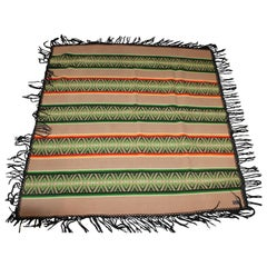 Pendleton Fringed Indian Design Camp Blanket