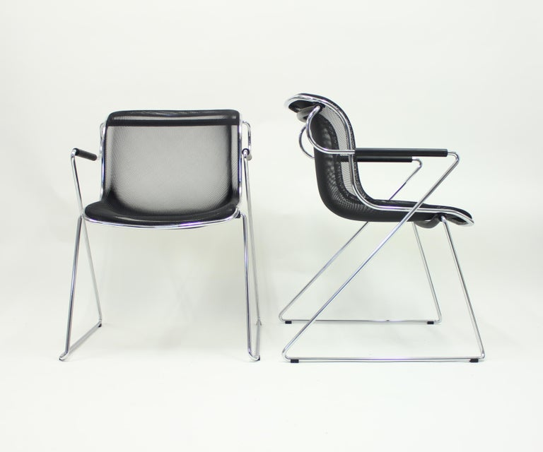 Post-Modern Penelope Chair by Charles Pollock for Castelli, Set of 2 For Sale