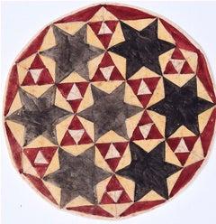 Penelope Ellis Mid-Century Geometric Design Gouache Modern British Art