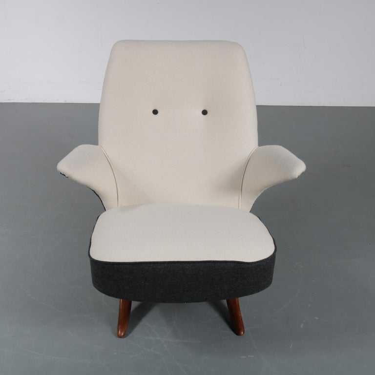 Mid-Century Modern Penguin Chair by Theo Ruth for Artifort, 1957 For Sale