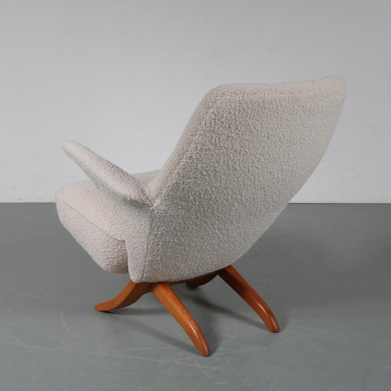 Penguin Chair by Theo Ruth for Artifort, 1957 In Good Condition For Sale In Amsterdam, NL