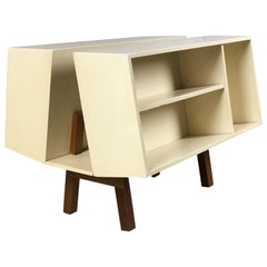 Penguin Donkey Mark II Petite Bookcase Table by Ernest Race for Isokon, 1963