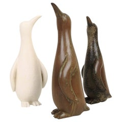Penguin Family Set of 3 Rörstrand Gunnar Nylund Sweden