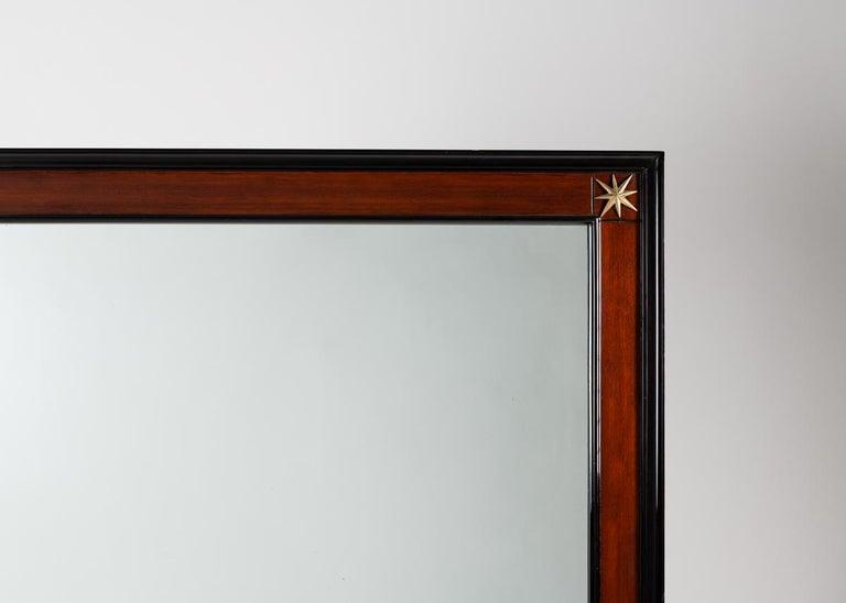 Wood Pennsylvania Furniture Co. Modernist Rectangular Mirror America Mid-20th Century For Sale