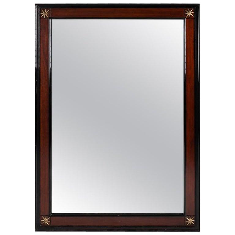 Pennsylvania Furniture Co. Modernist Rectangular Mirror America Mid-20th Century For Sale