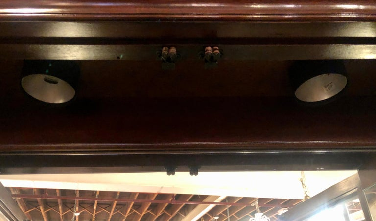 Pennsylvania House Secretary Desk / Bookcase in the Chippendale Style For Sale 6