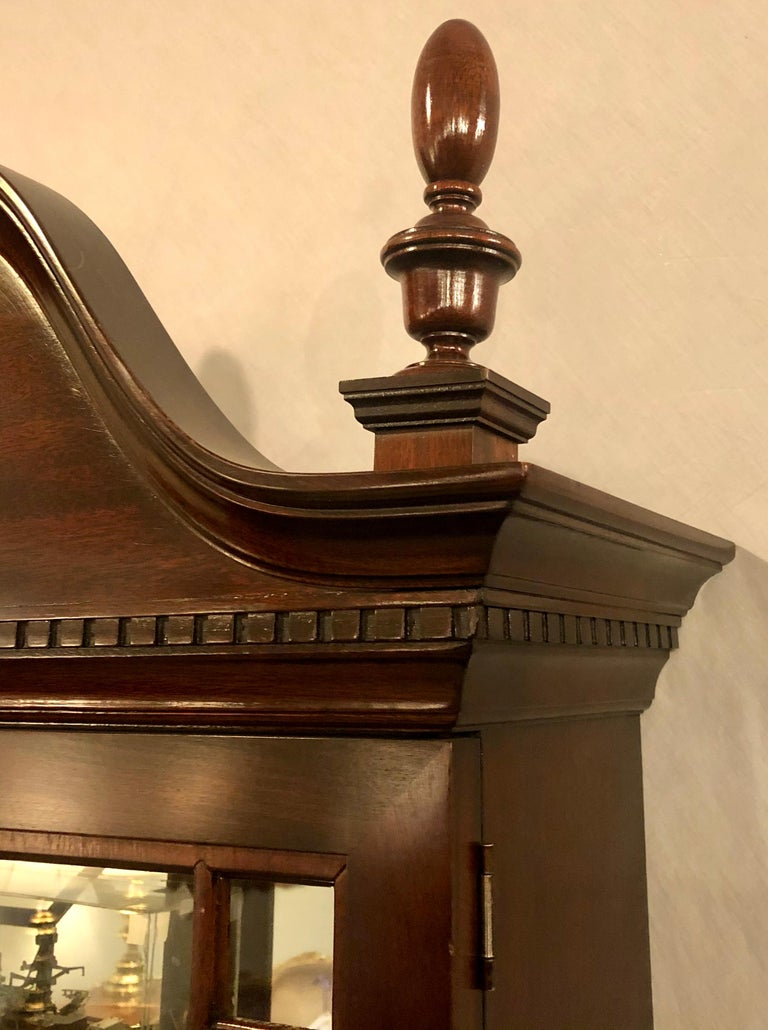 Pennsylvania House Secretary Desk / Bookcase in the Chippendale Style For Sale 7