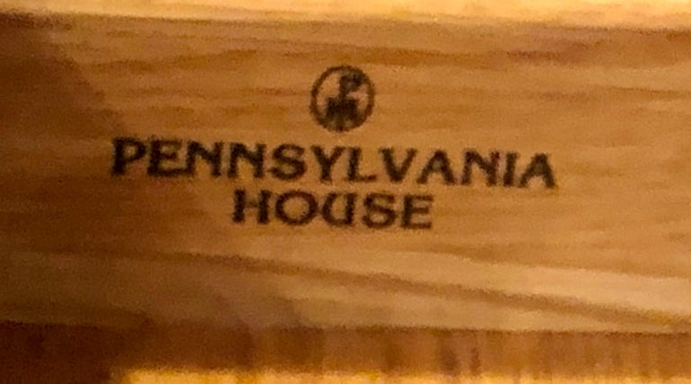 Pennsylvania House Secretary Desk / Bookcase in the Chippendale Style For Sale 9
