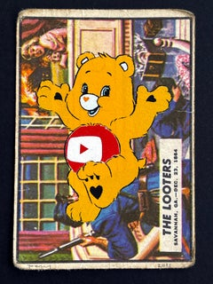 """""""Care Bear Warfare - The Looters"""" You Tube (FRAMED) in black"""