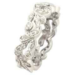 Penny Preville Eternity Leaf Diamond Ladies Ring R6059W