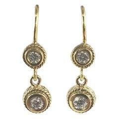 Penny Preville Ladies Diamond Earring E1011G