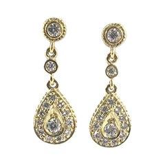 Penny Preville Ladies Diamond Earring E4010G