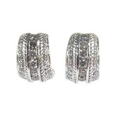 Penny Preville Ladies Diamond Earring E7030W