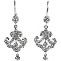 Penny Preville Ladies Diamond Earring E8186W