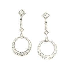 Penny Preville Ladies Diamond Earring E8598W