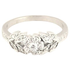 Penny Preville Ladies Flower Ring R6020W