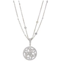Penny Preville Removable Diamond Medallion Pendant Necklace