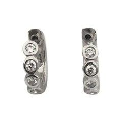 Penny Preville Small Huggie Diamond Earring E1022W