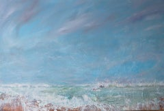 Before The Storm. Contemporary Seascape Oil Painting