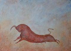 Taurus, Contemporary Oil Painting