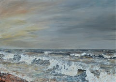 Winter Promise. Contemporary  Seascape Oil Painting