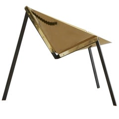 Pensando ad Acapulco Brass Chair