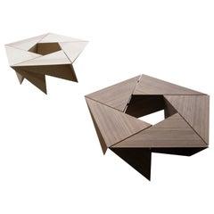 "Pentagonal Modular ""EL Cangrejito"" Coffee Table"