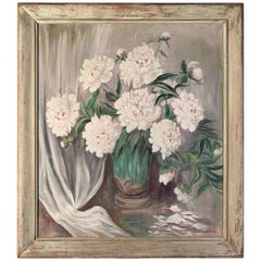 Peonies in a Vase Painting by Mary Watson Pedlow