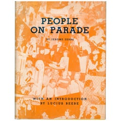 PEOPLE ON PARADE, Book of Society Photographs by Jerome Zerbe