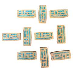 Pepe Mendoza Set of 10 Pull Knobs