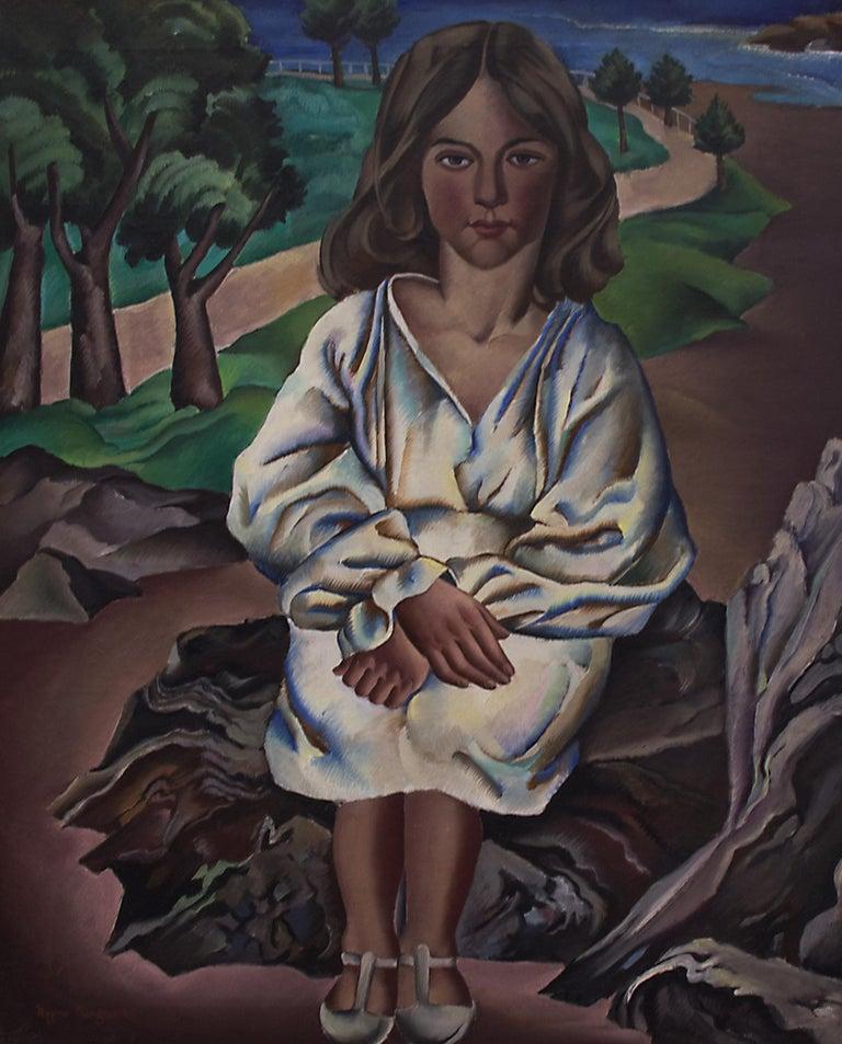 Dora - Painting by Peppino Mangravite