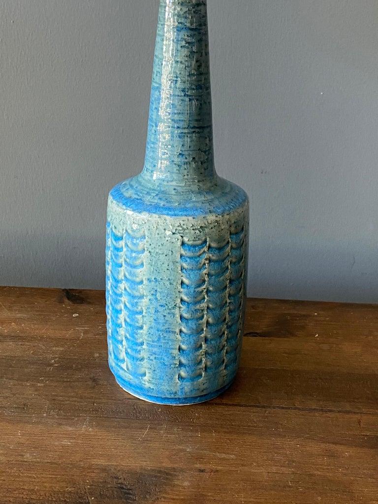 Mid-Century Modern Per & Annelise Linneman-Schmidt, Table Lamp, Stoneware, Palshus, Denmark, 1960s