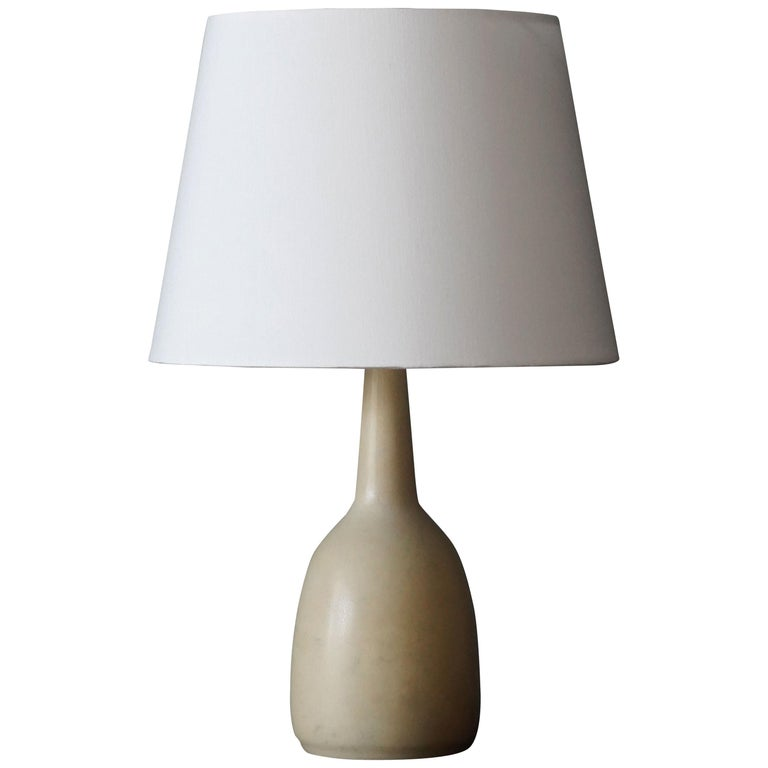 Per & Annelise Linneman-Schmidt, Table Lamp, Stoneware, Palshus, Denmark, 1960s For Sale