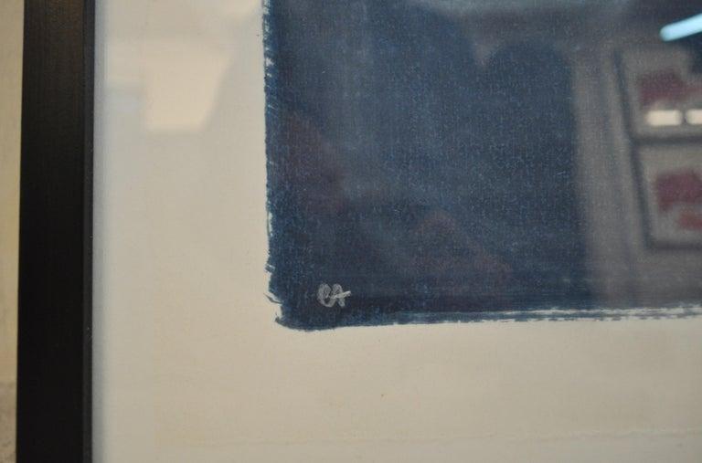 Per Kirkeby Lithograph, 1990s, Signed,  EA (Epreuve D'Artiste) Frame incl.   Artwork size: 59 cm H x 87 cm W Frame size: 74 cm H x 103 cm W  Per Kirkeby (1938 - 2018), Danish painter, poet, film maker, graphic artist, sculptor and geologist. He