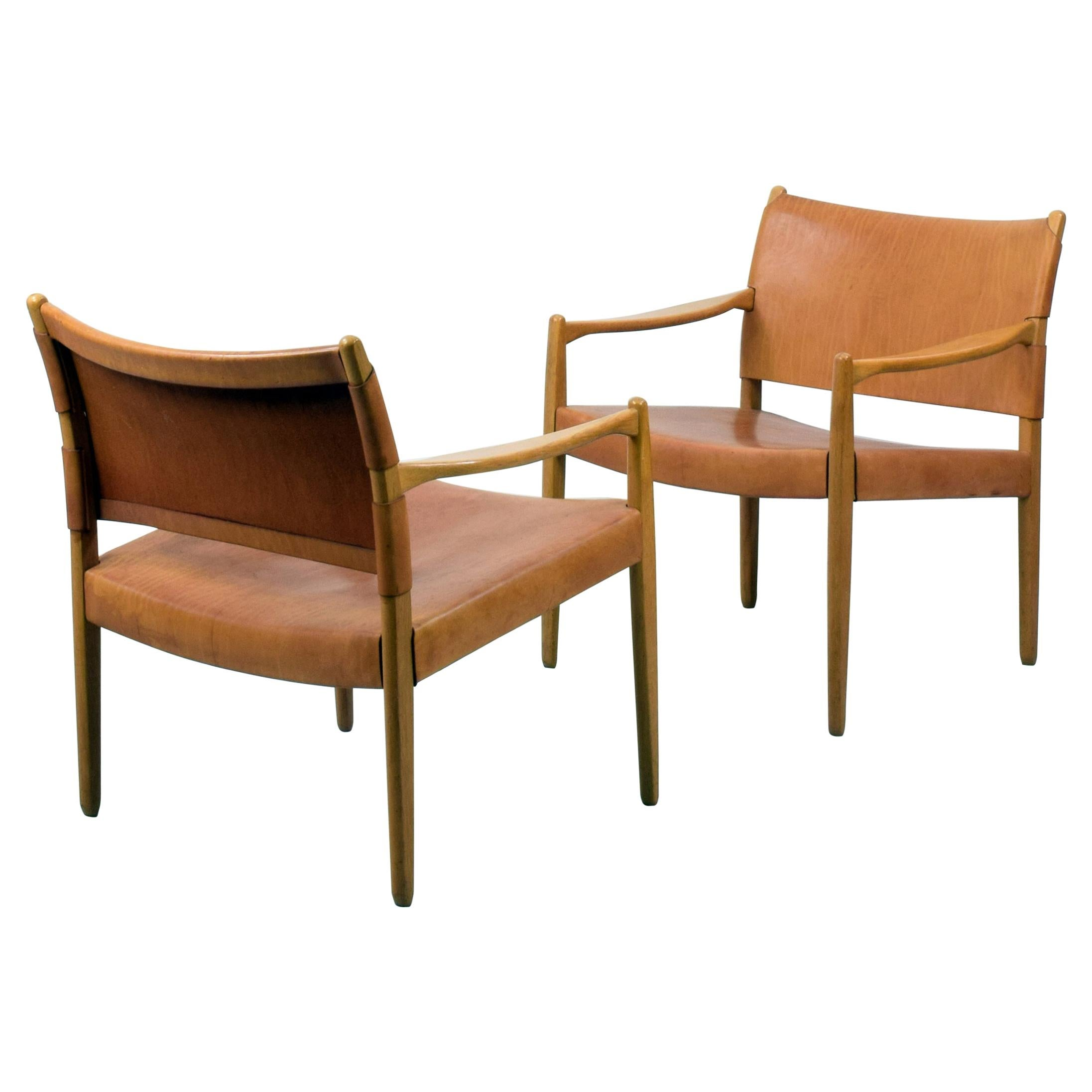 Per-Olof Scotte, 'Premiär-69' Pair of Armchairs for Möbel Ikea, Designed 1967