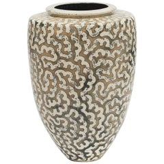 Per Weiss Colossal Stoneware Floor Vase