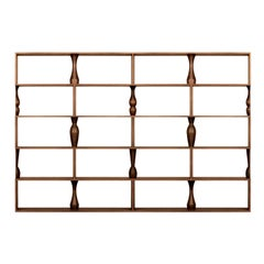 Perbacco 4-Piece Modular Bookcase by Itamar Harari