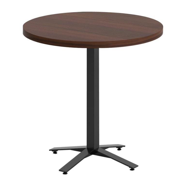 Perch Cafe Table in Walnut For Sale