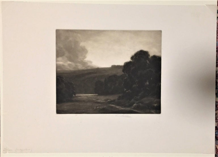 Dawn - Print by Percival Gaskell, R.E.