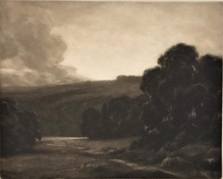 Dawn - Modern Print by Percival Gaskell, R.E.