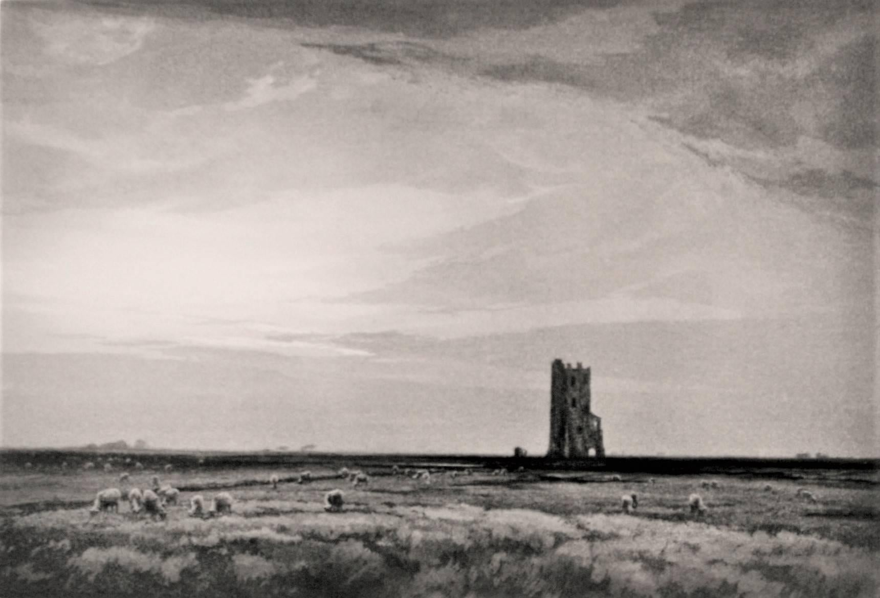 The Lonely Tower, Roman Campagna