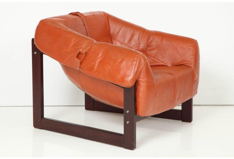 Percival Lafer Lounge Chairs In Good Condition For Sale In New York, NY