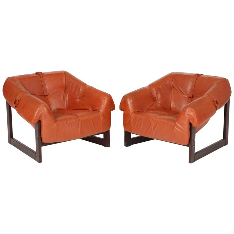 Percival Lafer Lounge Chairs For Sale