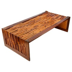 Percival Lafer Mid-Century Modern Brutalist Style Coffee Table
