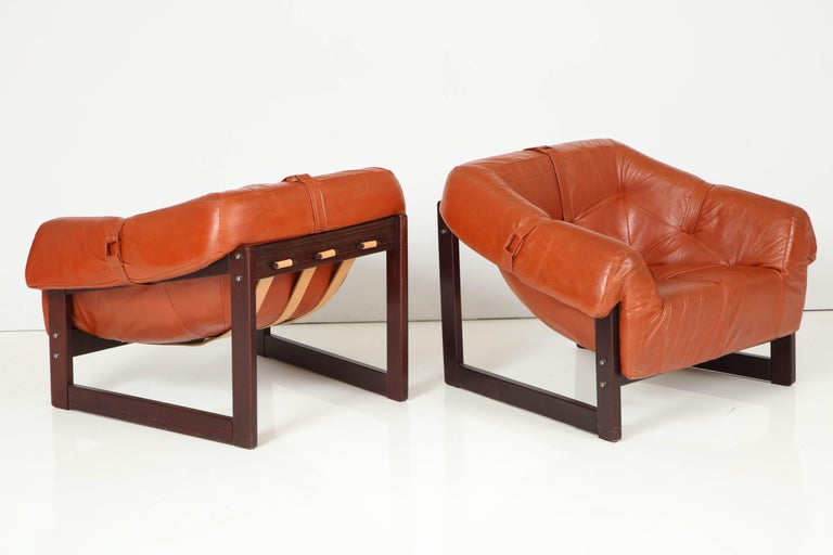 Mid-Century Modern Percival Lafer MP-091 Lougers For Sale